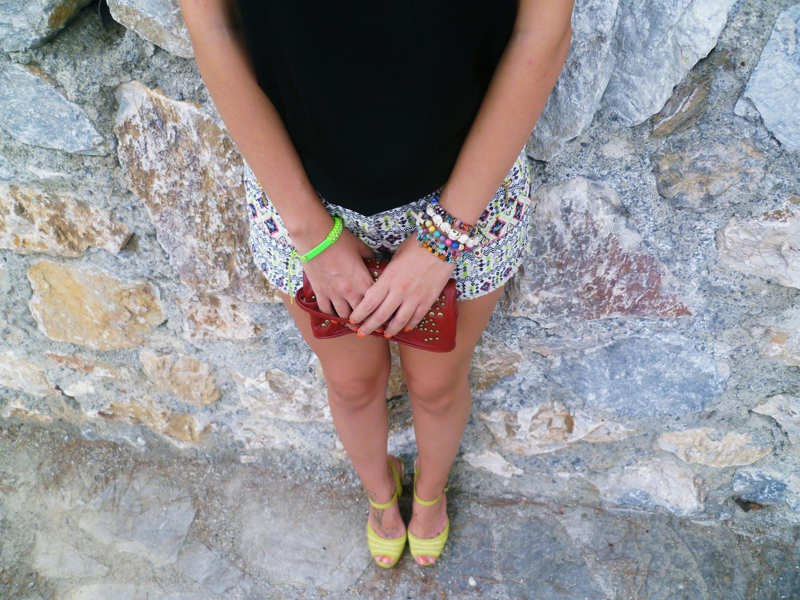 Always trendy jacquard shorts - Que es jacquard ...