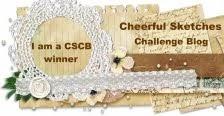 Challenge gewonnen januari 2017 en gastdesigner maart 2017