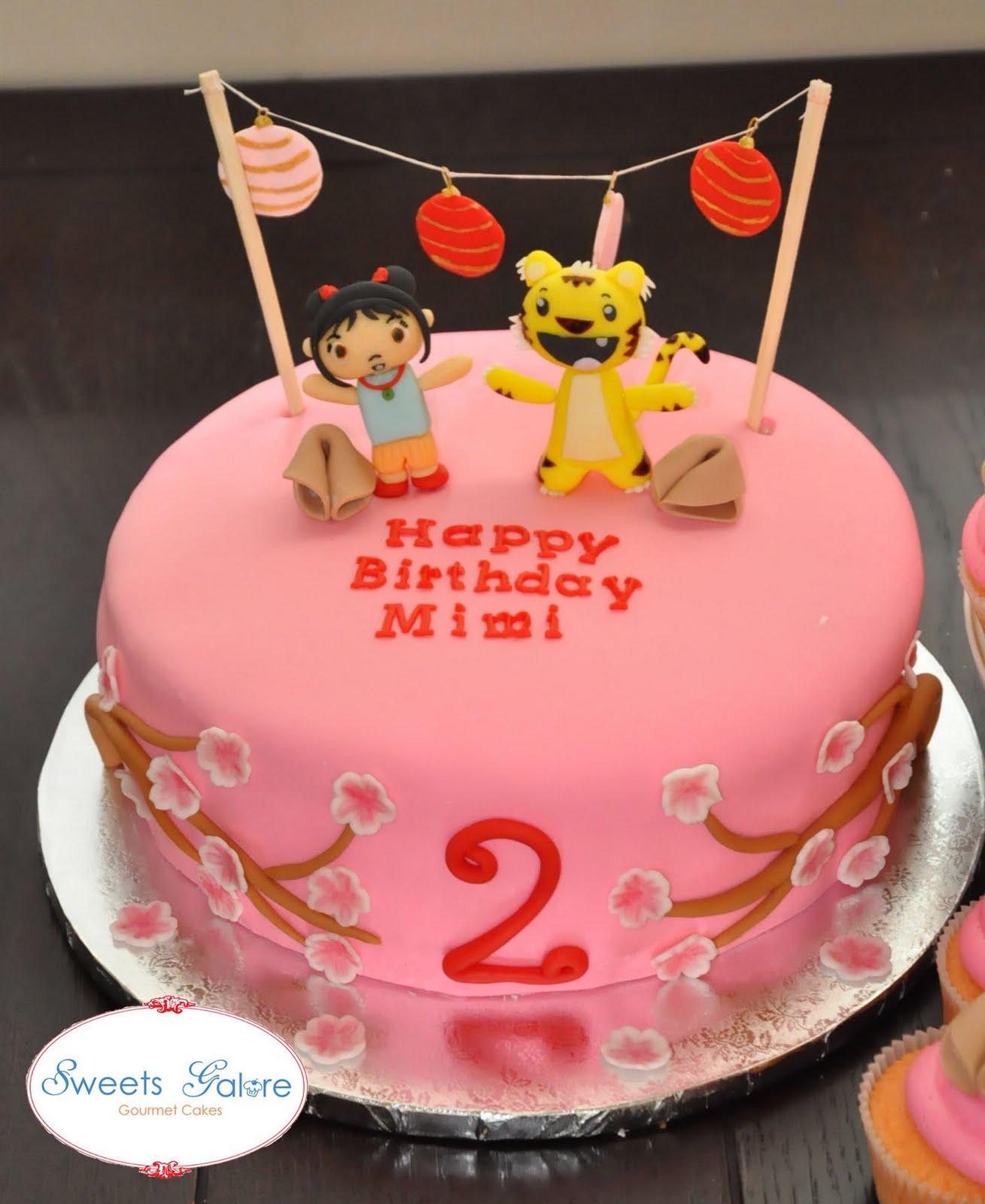 Sweets Galore Ni Hao Kai Lan Cake And Cuppycakes