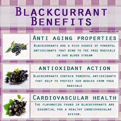 10 Health Benefits of Blackcurrant