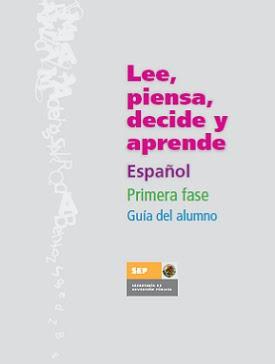 LEE, PIENSA DECIDE Y APRENDE  (ALUMNO)