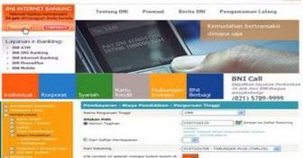 bali service computer bni inter  banking