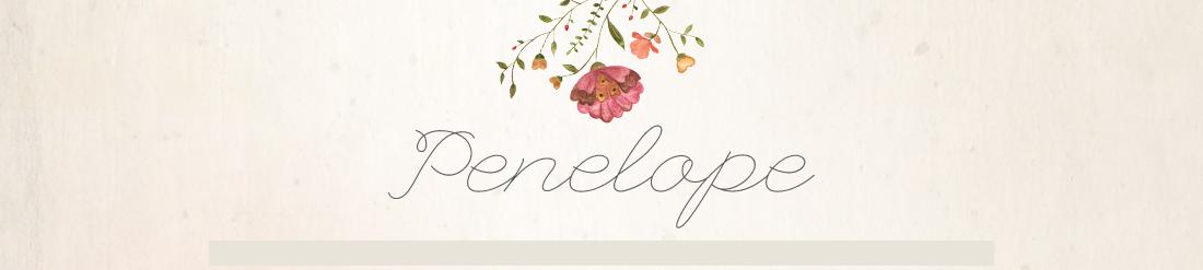 Penelope : Envye Premade Blogger Template
