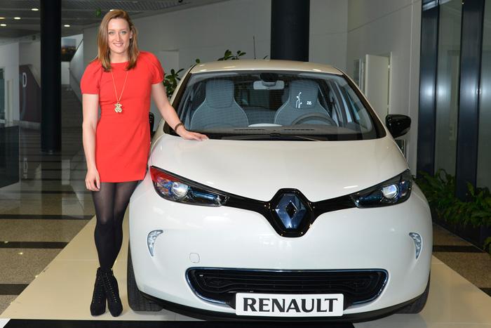Mireia Belmonte vincula su imagen a la de Renault