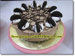 Chilled Oreo Chocolate Cheese cake