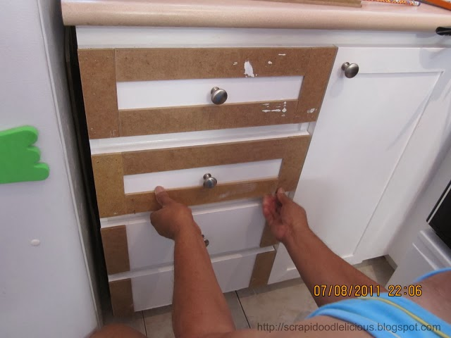 Kristen f davis designs shaker style cabinets for Add drawers to kitchen cabinets