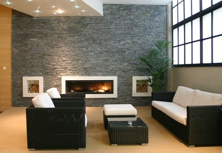 C mo limpiar una pared de piedra casas decoracion - Como limpiar una casa ...