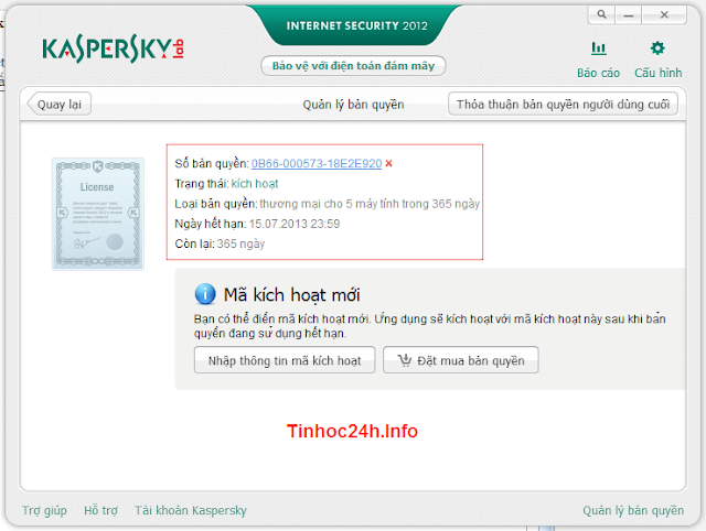 kaspersky internet security 2012 finally