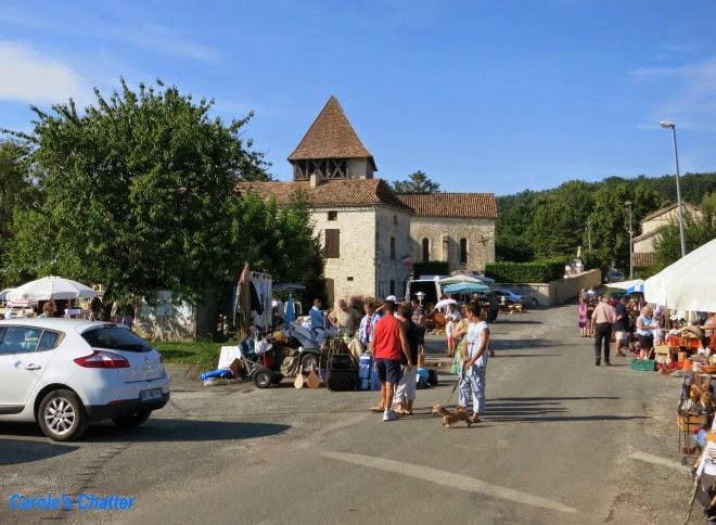 Flea market, Bournel, Lot et Garonne, France by Carole's Chatter