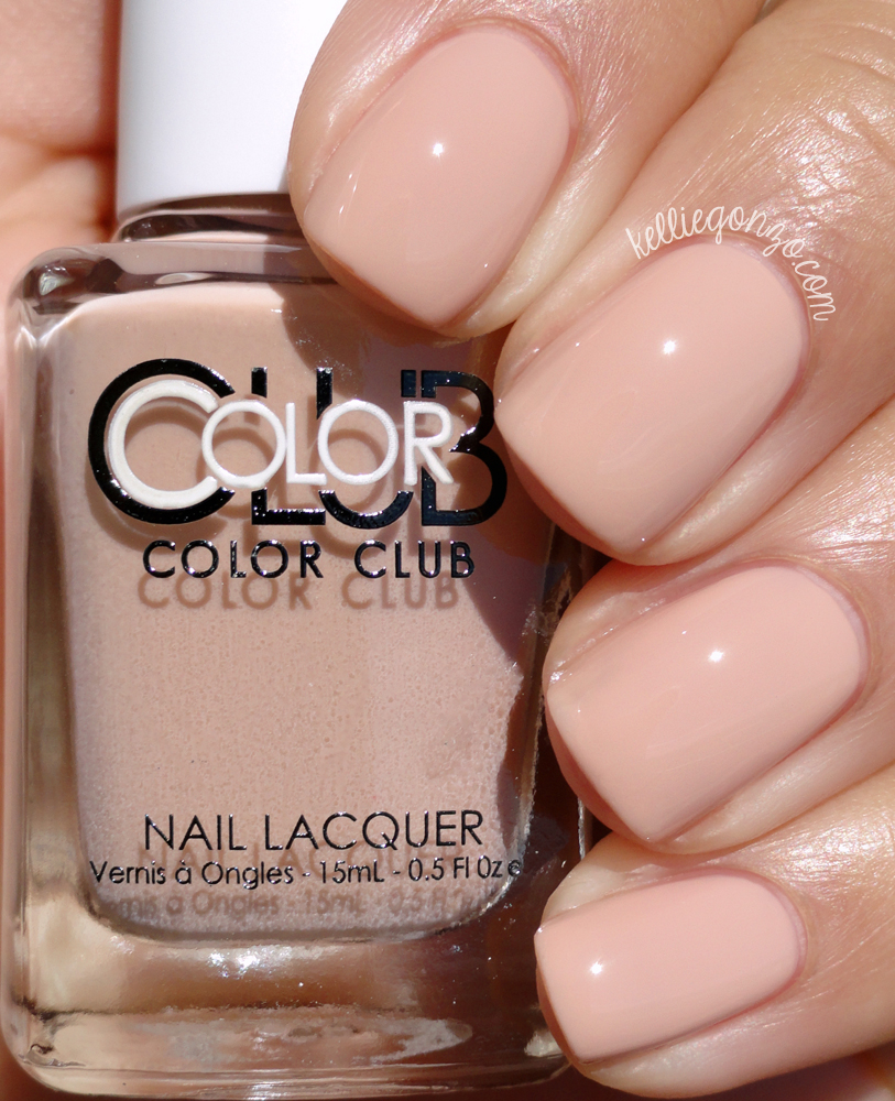 Color Club Barely There Shift Into Neutral Collection
