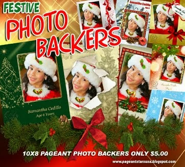Christmas Photo-Backers