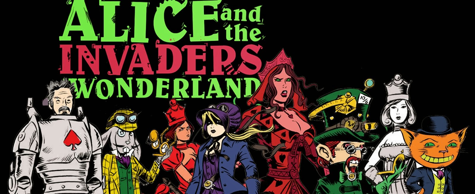 Alice and the Invaders From Wonderland