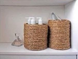 Relas portaoggetti da bagno idea fai da te - Portaoggetti bagno ...