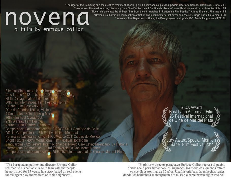 novena, a film by enrique collar