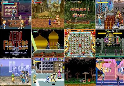 WinKawaks+Jogos CPS1, CPS2 e NeoGeo Capa
