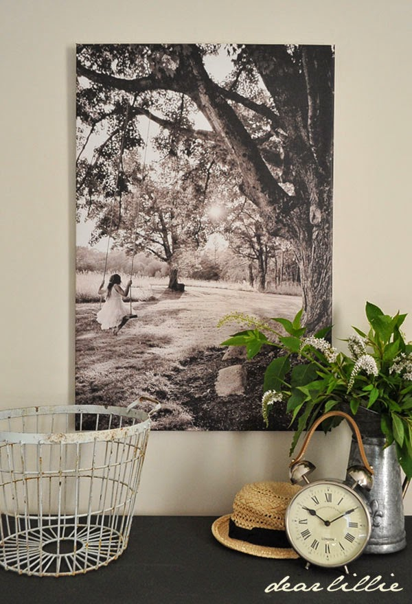 http://www.dearlillie.com/product/tree-swing-24x36-black-and-white-canvas