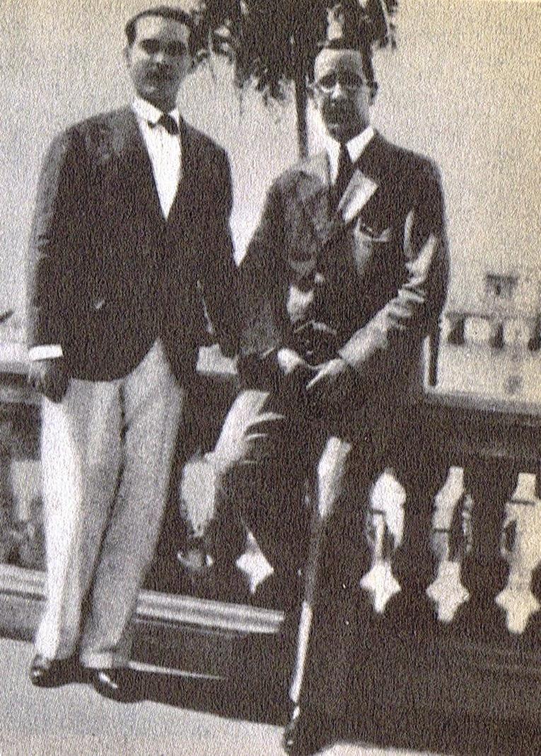 Lorca y el escritor cubano Luis Rodríguez Embil