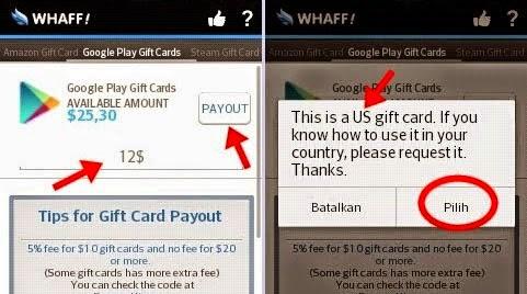 payout whaff reward