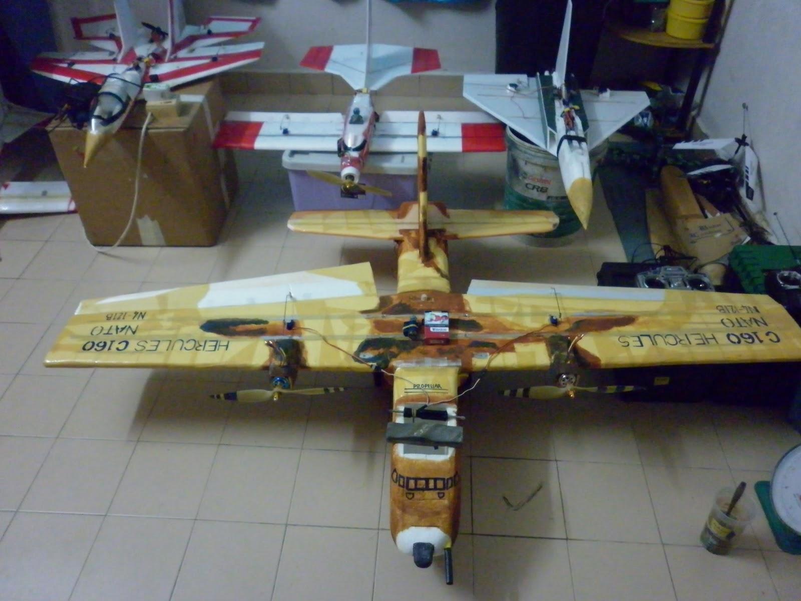 how to make a homemade rc plane pdf