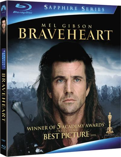 Braveheart Blu-ray Dvd Case