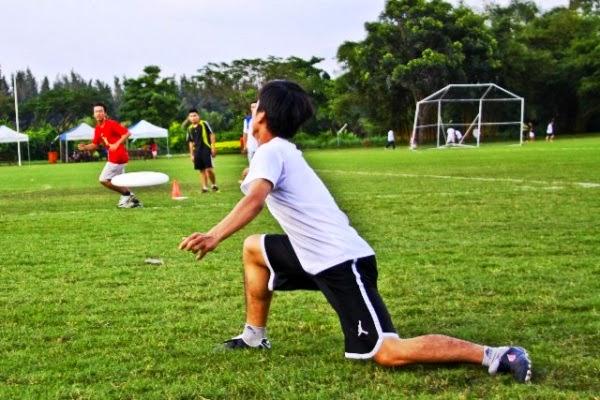 Frisbee-match