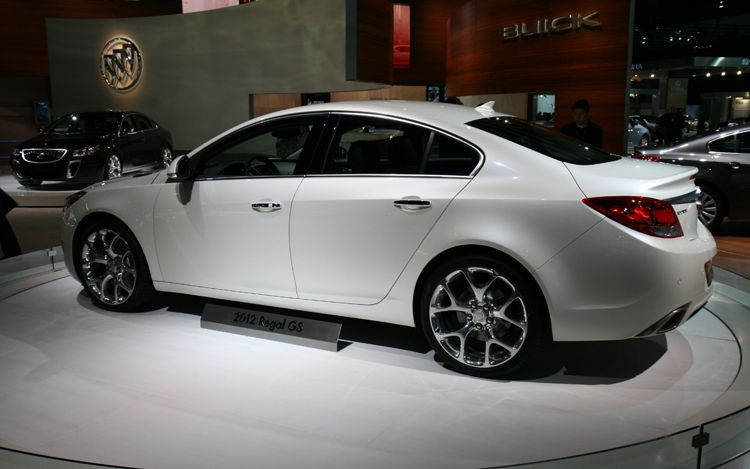 Tradecar View 2012 Buick Regal Gs