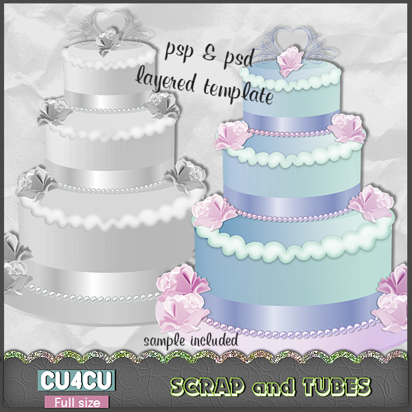 IN STORES Wedding Cake Template CU4CU Saturday April 21 2012