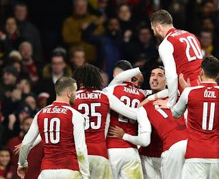 Europa League quarter final: Arsenal face CSKA Moscow [Full draw]