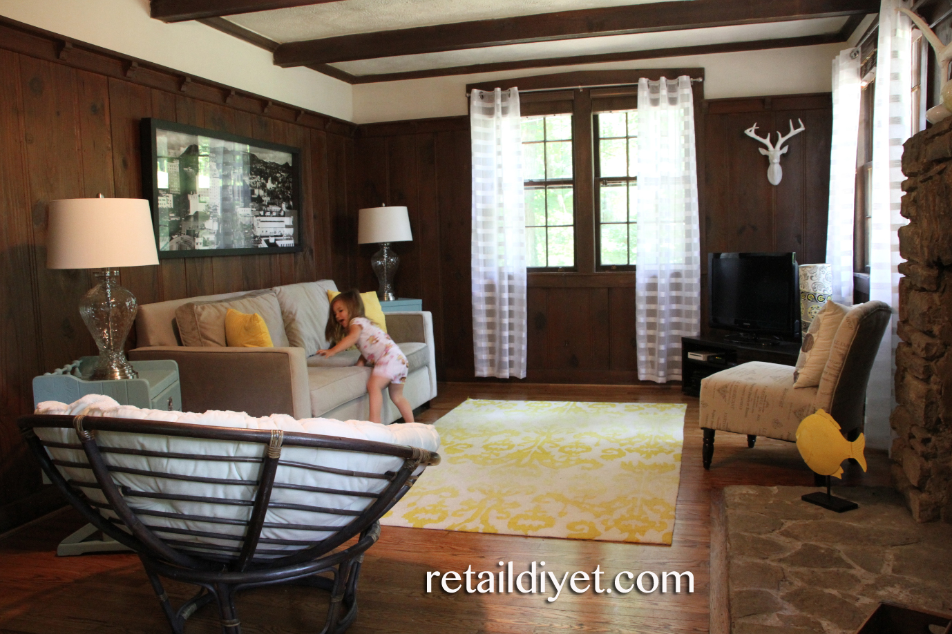 Our tennessee life formerly the retail diyet living room decorating on a budget - Living room design on a budget ...