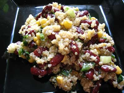 Kidney Bean and Quinoa Salad