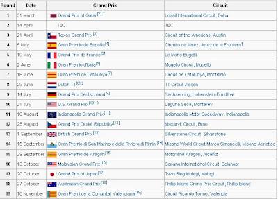 jadwal motogp 2013-2014