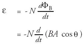 gaya gerak listrik induksi ggl perubahan orientasi sudut