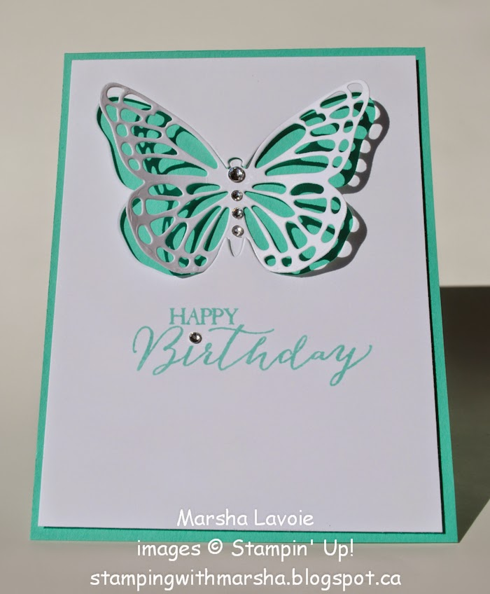 butterfly basics stampin up