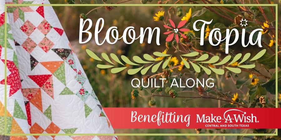 Bloomtopia Quilt Along 2020
