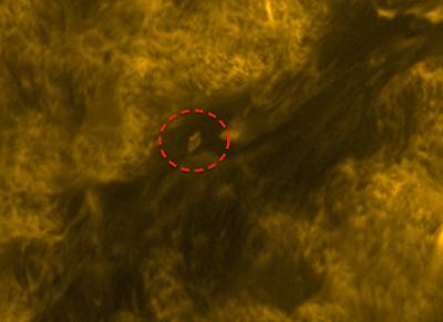 Huge UFO Caught On Sun's Surface 2015, UFO Sighting News