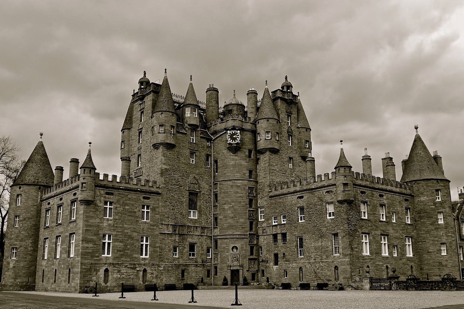 Haunted Glamis Castle