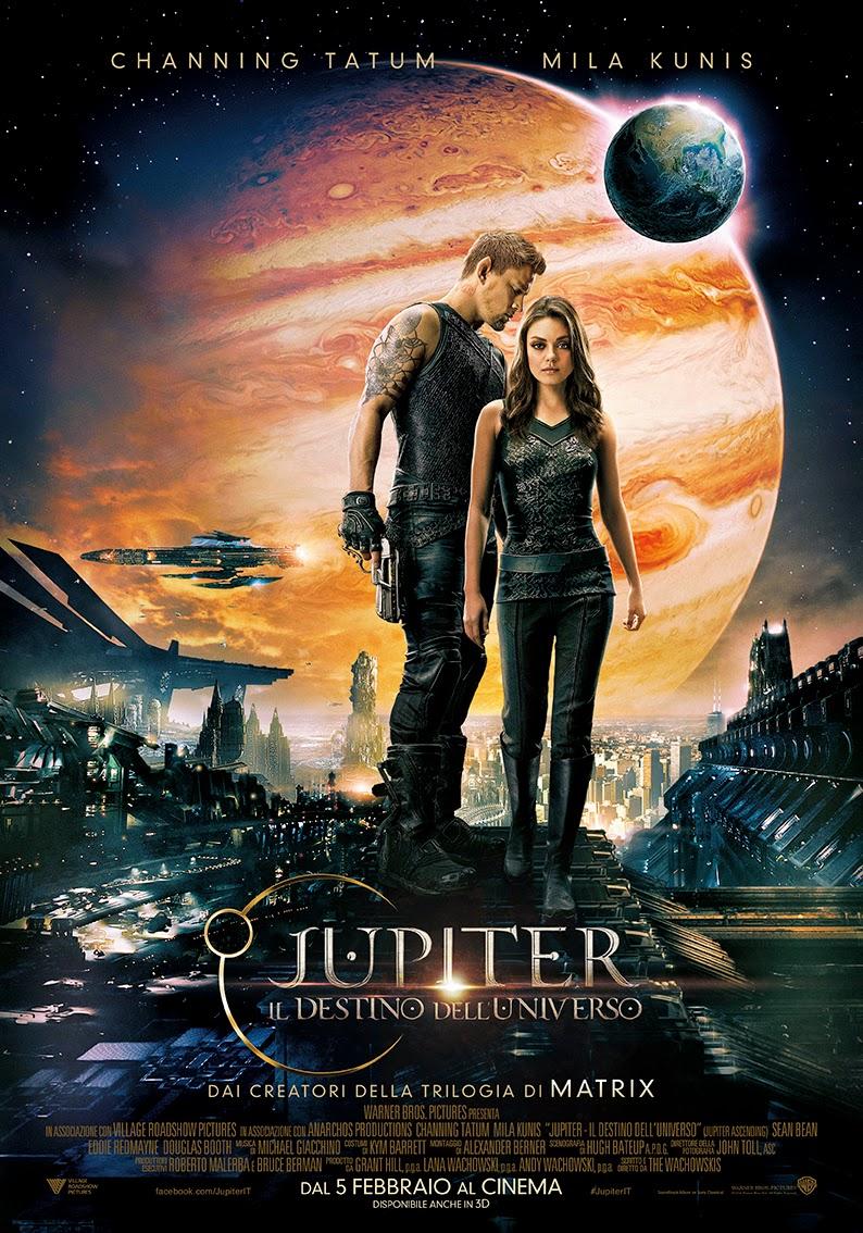 Jupiter destino universo poster recensione wachowski