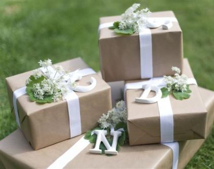 How To Wrap A Wedding Gift Box : have done something like this often for birthdays and other ...