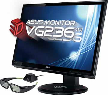 ASUS VG236H 3D Class LCD Monitor
