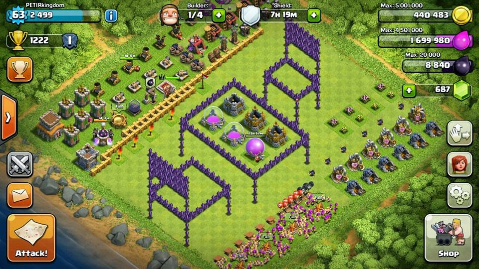 Update Pictures Formation Base Coc Best Clash Of Clans Base