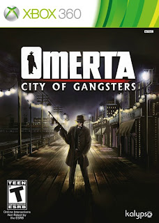 omerta city of gangsters box Omerta: City Of Gangsters   Xbox 360 Box Art