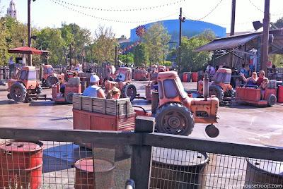 Mater's Junkyard Jamboree Cars Land Carsland
