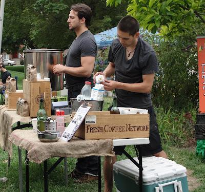 farmers' market coffee