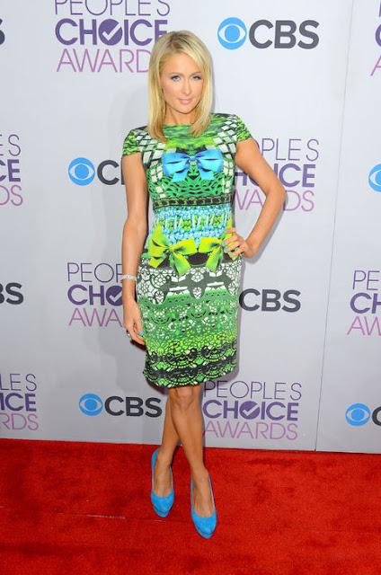 Paris Hilton at The People's Choice Awards 2013