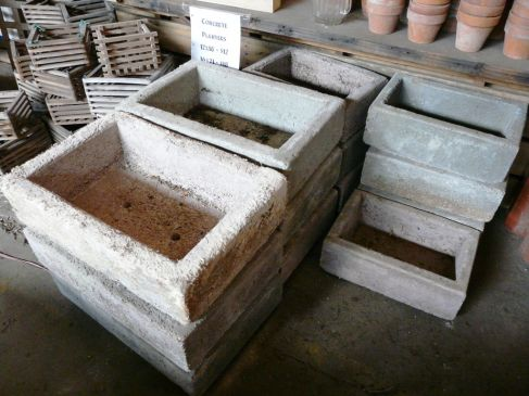Raised bed garden ideas cast concrete raised bed garden ideas - Casting concrete planters ...