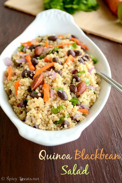 Quinoa Bean Salad Recipe