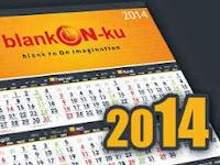 Desain Kalender 2014 Lengkap