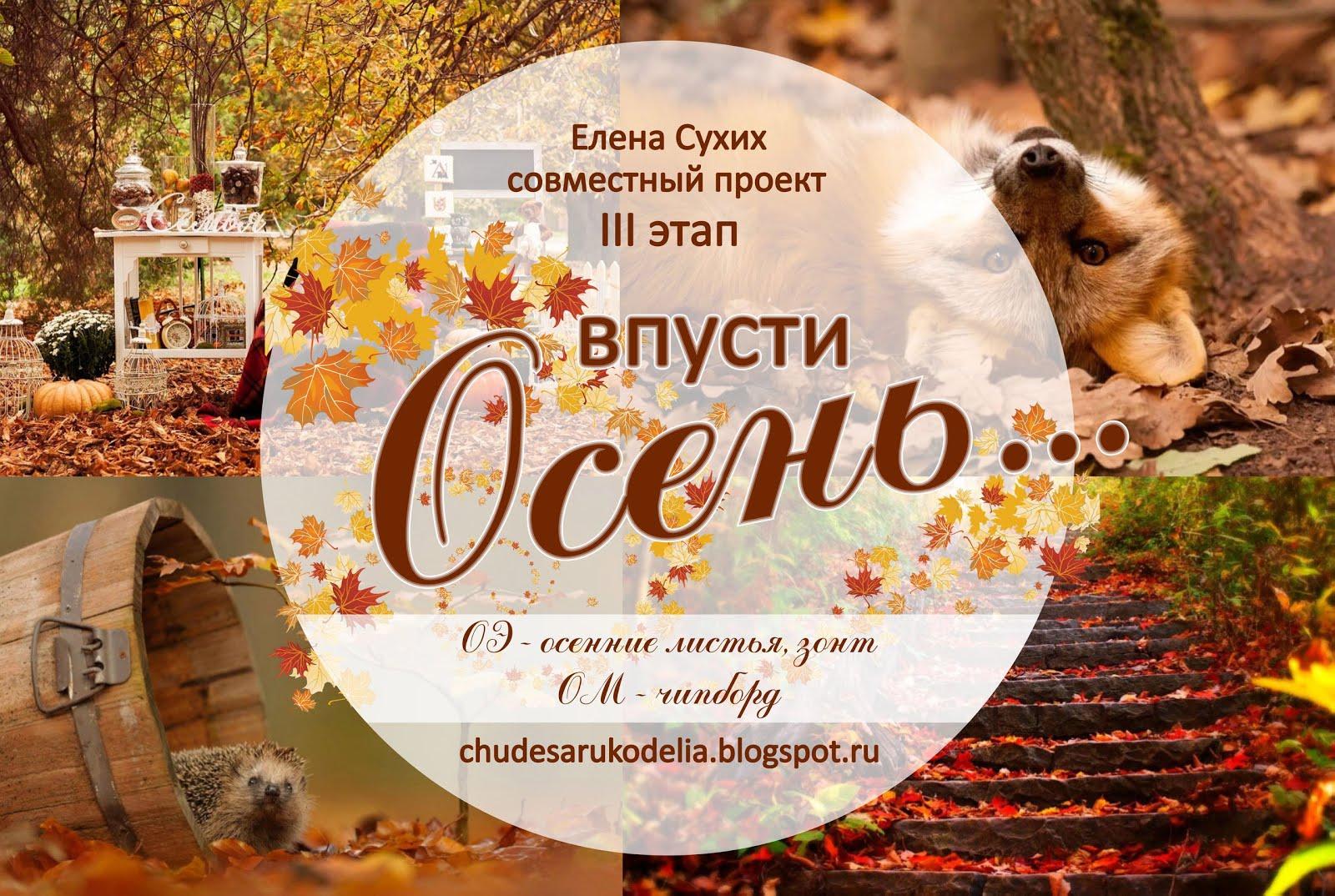 """Третий этап СП """" Впусти осень"""". Часть 2"""