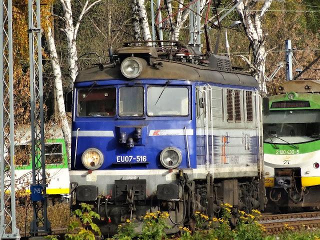 EU07-516 na Olszynce Grochowskiej