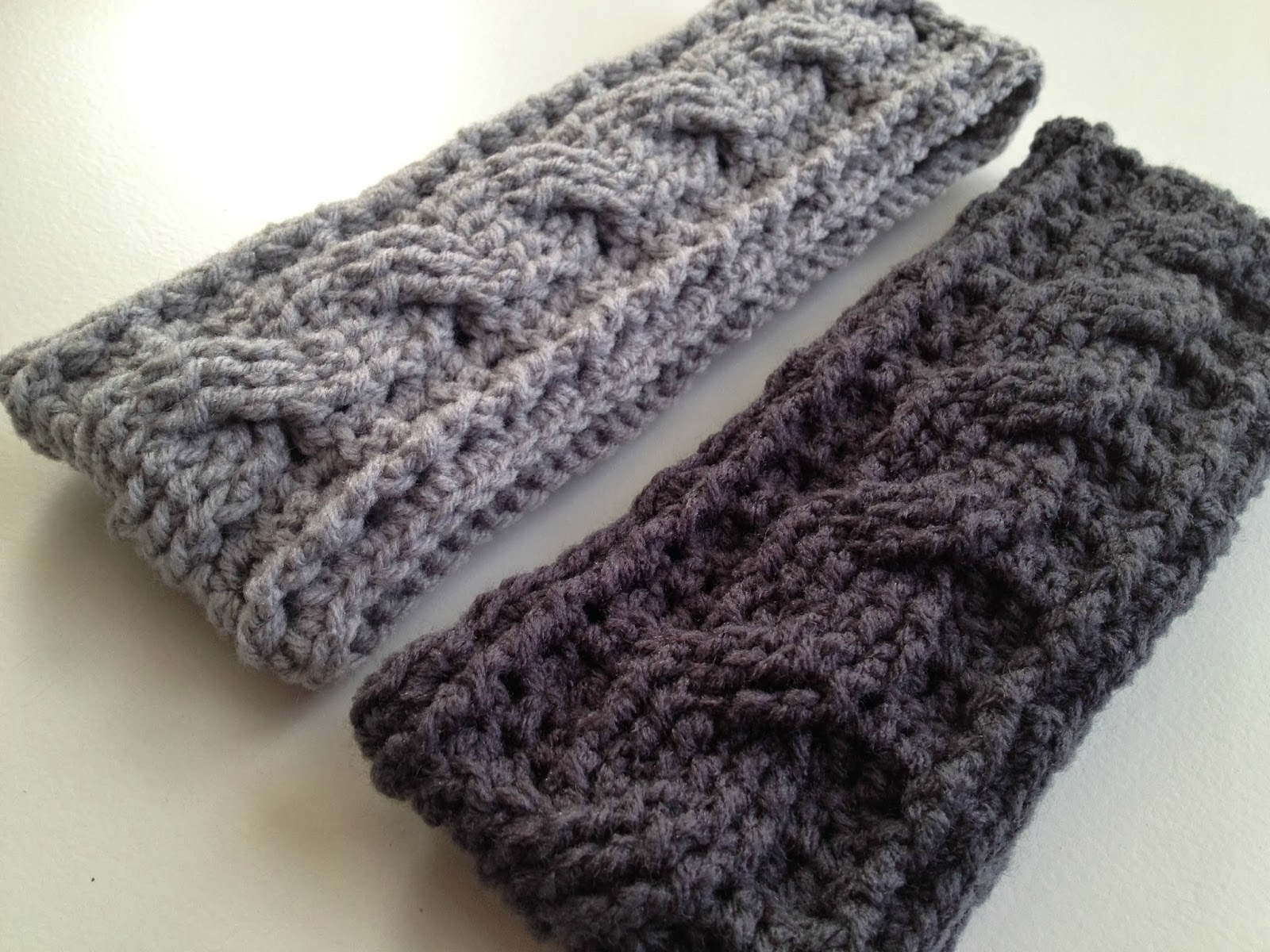 Crochet Ear Warmer : Crocheted Ear Warmer Cake Ideas and Designs